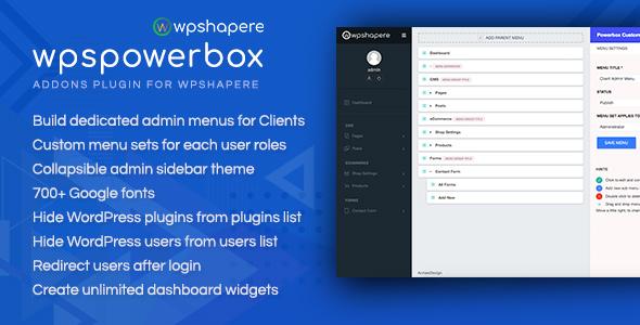 WPSPowerbox addon for WPShapere